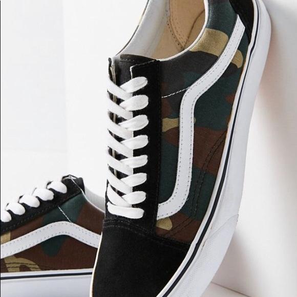 dfc54a4ecef538 Vans Woodland Camo Old Skool Sneaker. M 5c3283701b32947ee0df9406